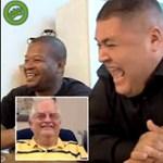 A nevetésből tudható, hogy két ember ismeri-e egymást