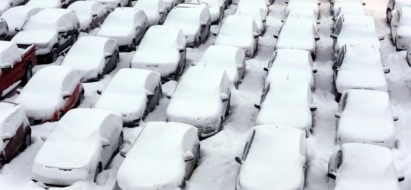 Már a gazdaságot is veszélyezteti a dermesztő hideg Amerikában