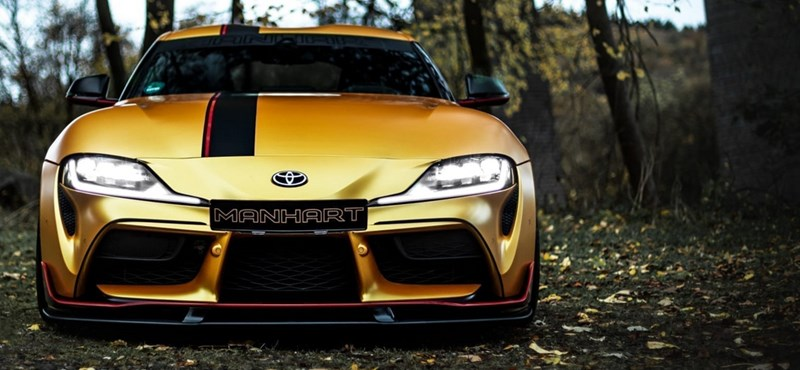 550 lóerősre húzták fel az új Toyota Suprát