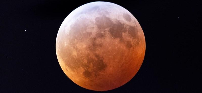 Csodás képek születtek a hétfő hajnali holdfogyatkozásról