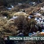 Illegális szemétlerakóra bukkantak Hajdúböszörmény határában