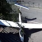 Drámai videót tettek közzé a vitorlázórepülő lezuhanásáról