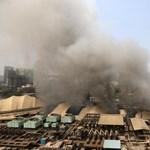 Tűz ütött ki egy Covid-betegeket ellátó kórházban Indiában, legalább kilencen meghaltak