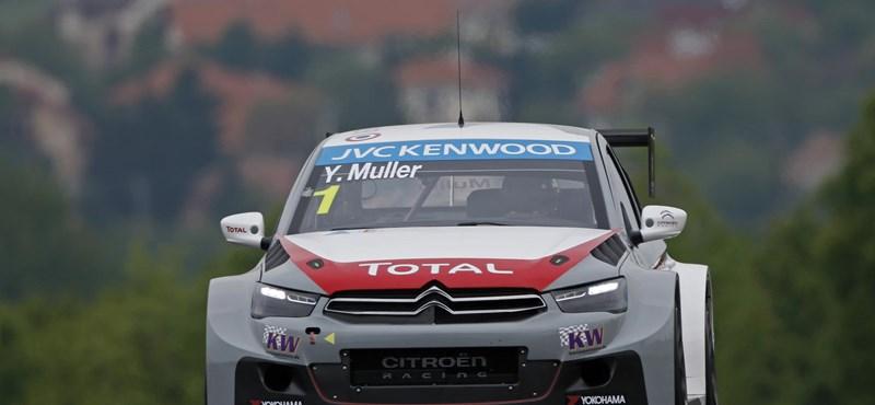 Mulleré a belgiumi WTCC-pole, Michelisz 7. az időmérőn