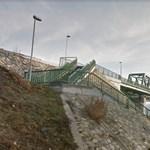 Hídról akart leugrani, rendőrök rántották vissza