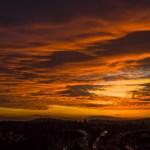 Elképesztő volt a naplemente az ország felett - fotók