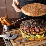 Hamburger több mint negyedmillióért