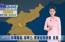 Kínából érkező, veszélyes porfelhőre figyelmeztet Észak-Korea, ki is ürültek az utcák