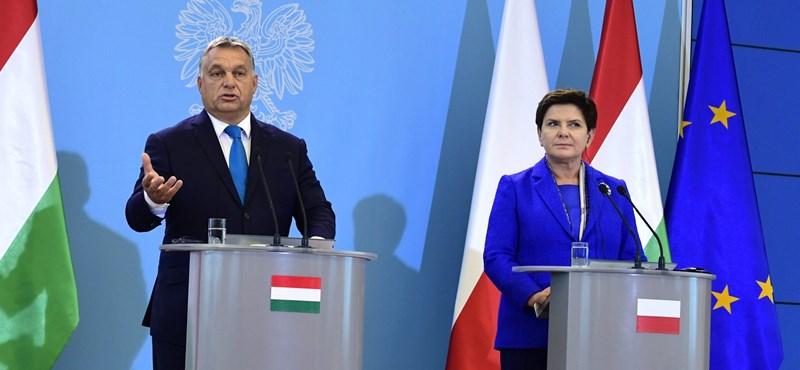 """A BBC azt találgatja, ledobják-e az uniós """"atombombát"""" Magyarországra és Lengyelországra"""