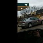 Szóval így kezdődik egy autós üldözés Amerikában (is) – videó