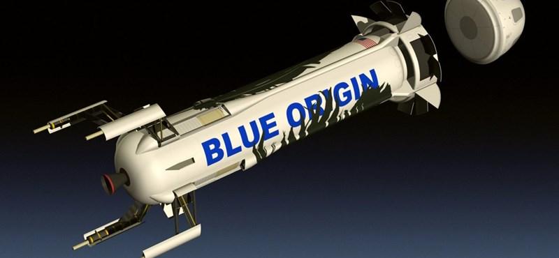 Jeff Bezos űrcége küldene először nőt a Holdra