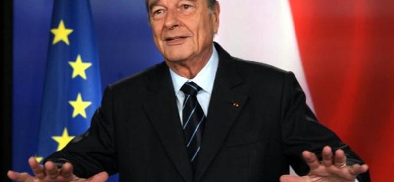 A franciák elégedettek Chirac elítélésével