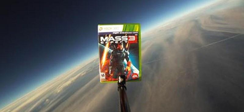 Mass Effect 3 - néhány példányt az űrbe küld az EA