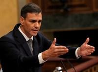 Spanyol kormányfő: a nem létfontosságú ágazatok leállnak két hétre