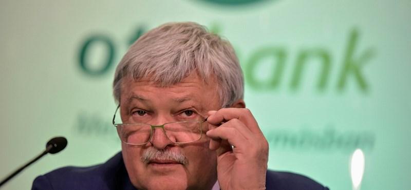 Megszüntetné az OTP elnöke a tranzakciós illetéket