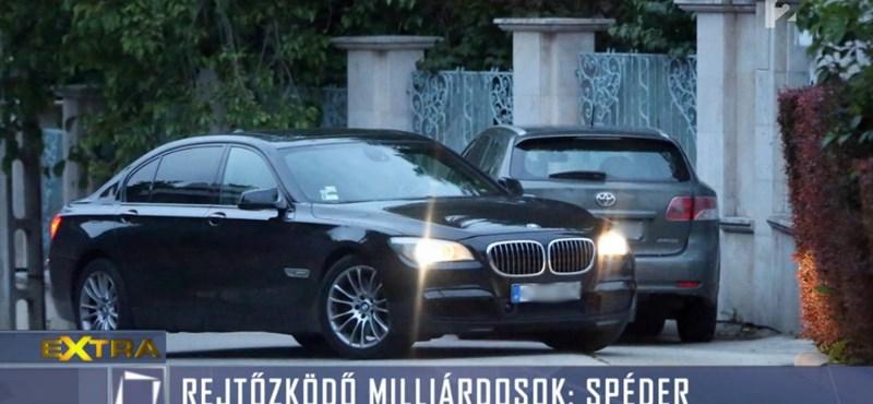 Bizarr módon nyoma veszett Spéder autójának
