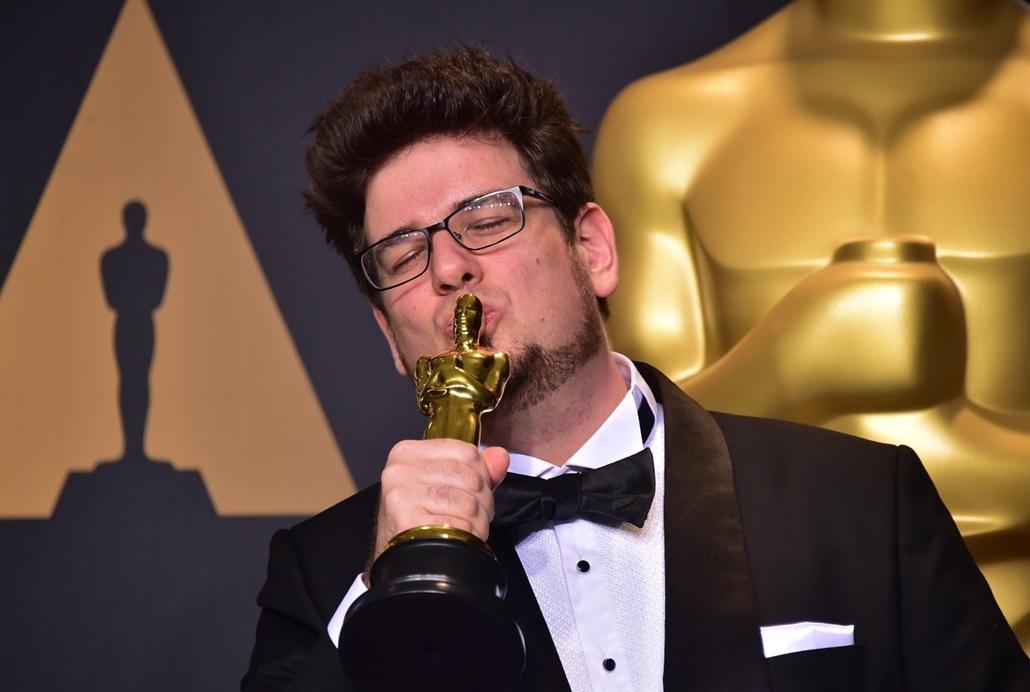 afp.17.02.27. - Hollywood, USA: 89. Oscar-díj - díjátadó - Deák Kristóf - Mindenki - legjobb rövidfilm - Deák Kristóf - Oscar-díj 2017 - 7képei, évképei