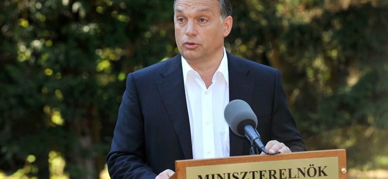 Orbán az asztalra csapott: marad az egykulcsos rendszer