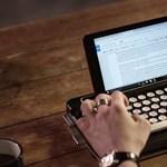 Szereti a retrót? Ezt a régies írógépet mobilokhoz és tabletekhez találtál ki