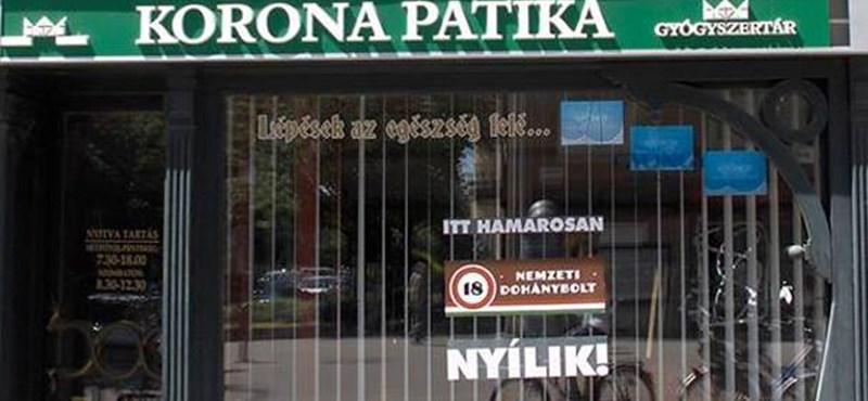 Patika helyén nyílhat trafik - fotó