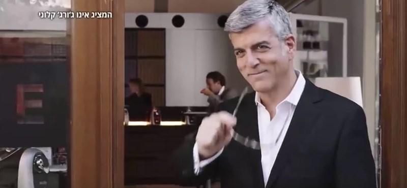 Clooney-hasonmás szerepel egy reklámban, perel a Nespresso - videó