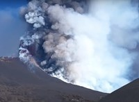 Elképesztő drónfelvétel készült az Etna kitöréséről