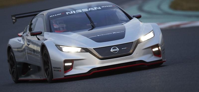 322 lóerős villanytorpedó készült az új Nissan Leafből
