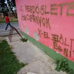 Cigányellenes feliratok Nagykanizsán: feljelentést tesznek jogvédők
