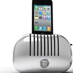 A nap kütyüje – iPhone a kenyérpirítóban