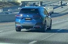 Közúton cirkált a vadonatúj BMW iX, le is fotózták