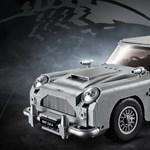 Működő katapultülés az új James Bond Lego autóban