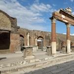 Újabb páratlan leletet, érintetlen ceremoniális kocsit találtak Pompejiben