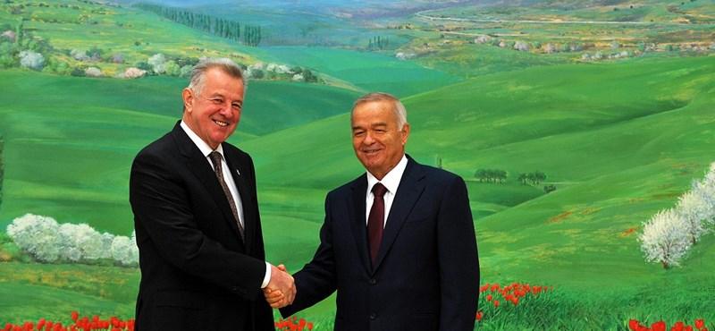 Most már hivatalos: meghalt az üzbég elnök