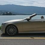 4 napszemüveg, 5 csillag, 6 henger – kipróbáltuk az új Mercedes E-kabriót