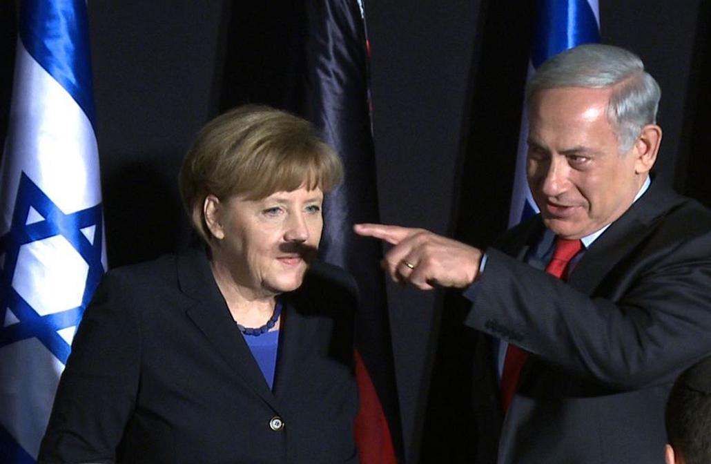 afp.14.02.25. - Jeruzsálem: Angela Merkel, Benjamin Netanjahu találkozója