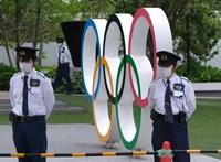Tartanak az olimpiától a japánok