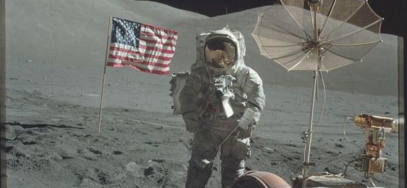 Méghogy kamu volt: 8400 fotót tettek közzé a holdra szállásról, itt találja őket