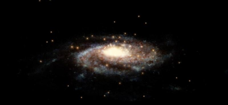 540 km/másodperc sebességgel forog a csillag, amelyre most bukkantak a Tejútrendszerben