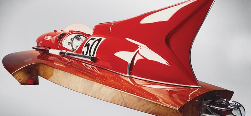 Három és félmilliárdért árulják a Ferrari egyedülálló versenyhajóját