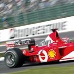 Elárverezik Schumacher legendás Ferrariját