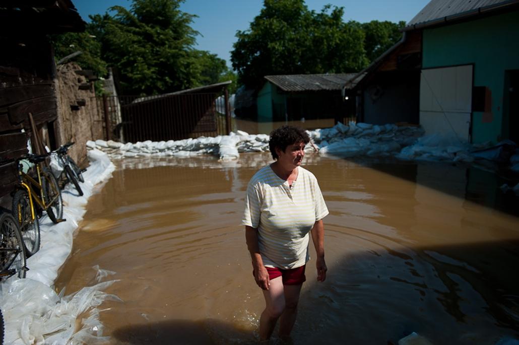 árvíz nagyítás sajólád