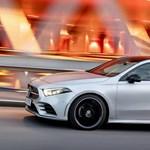 Hivatalos: íme a szuper áramvonalas Mercedes A-osztály szedán