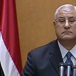 Menetrendet szabtak Egyiptomnak az ideiglenes elnök