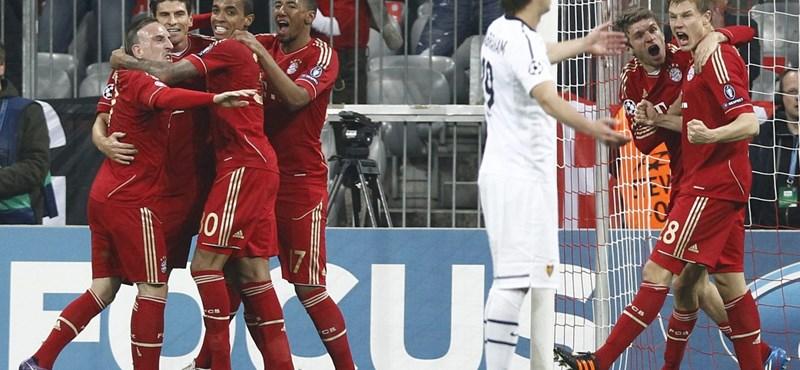 """Bayern: """"Jó móka volt!"""", Inter: """"Ez  ilyen szezon..."""""""