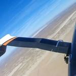 Áttörést ért el a NASA: olyan repülőgépet csinált, amelynek könnyen hajlítható a szárnya