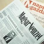Sorra mondanak fel az újságírók a Napi Gazdaságnál