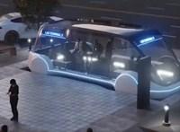 """Elon Musk bemutatta az alagutat, ami olyan, mintha """"teleportálnánk a városban"""""""