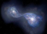 Különleges galaxisokat fedeztek fel, egymásba vannak gabalyodva