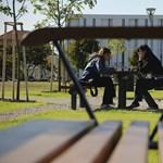 Képek: óriási park a Debreceni Egyetem campusának kellős közepén
