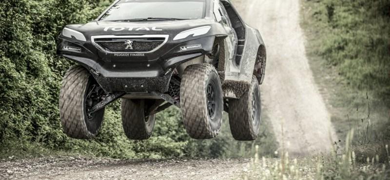 Nincs brutálisabb Peugeot a 2008 DKR-nél sehol a világon – fotók